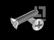 GB/T 6562-2014 十字槽半沉头自挤螺钉(H型)