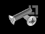 GB/T 6562-2014 米字槽半沉头自挤螺钉(Z型)