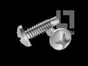 GB/T 15856.1-2002 十字槽盘头自钻自攻螺钉(H型)