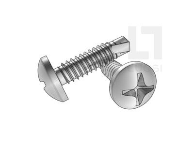 GB/T 15856.1十字槽盘头钻尾螺钉--SUS410/210/304/316
