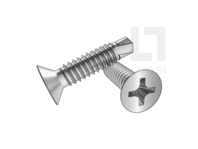 GB 15856.2 十字槽沉頭自鉆自攻螺釘(H型)