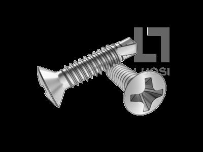 GB/T 15856.3 十字槽半沉头自钻自攻螺钉--SUS410/210/304/316