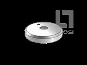 GB/T 892-1986 螺栓紧固轴端带孔挡圈