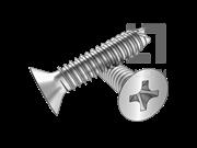 GB/T 13806.2-1992 十字槽沉头割尾自攻钉 刮削端(B型)