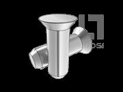 GB/T 13829.9-2004 沉头槽销(A型)