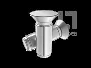 GB/T 13829.9-2004 沉头槽销(B型)