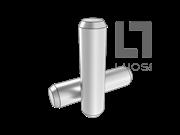 GB/T 119.1-2000 不淬硬钢和奥氏体不锈钢圆柱销(d h8)