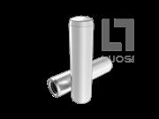 GB/T 120.2-2000 淬硬钢和马氏体不锈钢内螺纹圆柱销(A型)