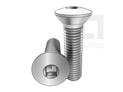 ASME/ANSI B18.6.3-12-2013 80°四方槽清根半沉头螺钉 表12