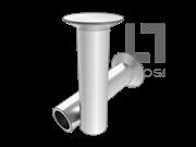 GB/T 874-1986 120°沉头半空心铆钉(有色金属)