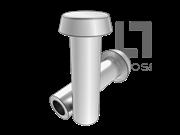 GB/T 1013-1986 平锥头半空心铆钉(有色金属)
