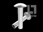 GB/T 1014-1986 大扁圆头半空心铆钉(有色金属)