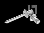 GB/T 12618-1990 开口型扁圆头抽芯铆钉