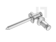GB/T 12617.4-2006 开口型沉头抽芯铆钉 51级