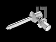 GB/T 12615.3-2004 封闭型平圆头抽芯铆钉 06级