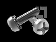 GB/T 9074.2-1988 十字槽盘头螺钉和外锯齿锁紧垫圈组合