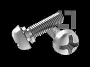 GB/T 9074.3-1988 十字槽盘头螺钉和弹垫组合