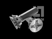 GB/T 9074.9-1988 90°十字槽沉头螺钉和锥形锁紧垫圈组合