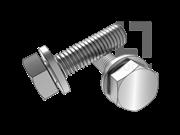 GB/T 9074.14-1988 六角头螺栓和平垫组合