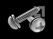 GB/T 9074.18-1988 十字槽盘头自攻螺钉和平垫组合F型