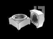 GB/T 13680-1992 焊接方螺母(A型)