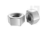 GB/T 13681-1992 焊接六角螺母