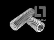 ISO 4026-1993 内六角平端紧定螺钉