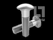 ASME/ANSI B18.5-5-2008 圆头双榫螺栓-表5