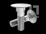 ASME/ANSI B18.5-9-2008 大沉头方颈螺栓-表9