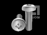 ASME/ANSI B18.6.3-19-2013 四方槽盘头螺钉 表19