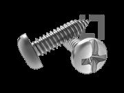 ASME/ANSI B18.6.3-20-2013 AB牙十一字槽盘头自攻螺钉 表20