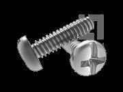 ASME/ANSI B18.6.3-20-2013 B牙十一字槽盘头自攻螺钉 表20