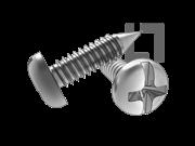 ASME/ANSI B18.6.3-20-2013 BP牙十一字槽盘头自攻螺钉 表20