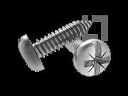 ASME/ANSI B18.6.3-20-2013 AB牙米一字槽盘头自攻螺钉 表20