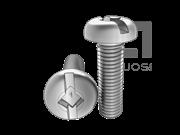 ASME/ANSI B18.6.3-20-2013 四方一字槽盘头螺钉 表20
