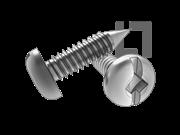 ASME/ANSI B18.6.3-20-2013 BP牙四方一字槽盘头自攻螺钉 表20