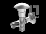 ASME/ANSI B18.5.2.3M-1998 米制大圆头方颈螺栓