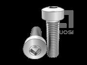 ASME/ANSI B18.6.3-22-2013 四方槽球面圆柱头螺钉 表22