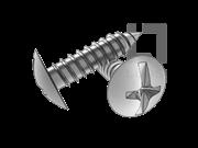 ASME/ANSI B18.6.3-26-2013 A牙十一字槽扁圆头木螺钉 表26