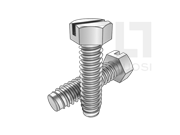 ASME/ANSI B18.6.3-29-2013 B牙开槽六角头自攻螺钉 表29