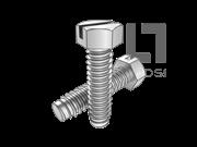 ASME/ANSI B18.6.3-29-2013 B牙开槽大六角头自攻螺钉 表29