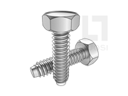 ISO 1479-1983 凹脑六角头自攻螺钉F型