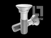 DIN 605-1981 120°沉头方颈螺栓