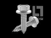 ISO 10509-1992 六角头法兰自攻螺钉C型