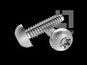 ISO 14585-2001 梅花槽圆头自攻螺钉F型