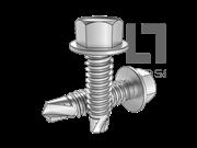 ISO 15480-1999 六角头凸缘钻尾自攻螺钉