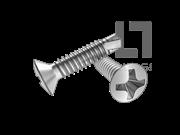 ISO 15483-1999 十字槽半沉头钻尾自攻螺钉(H型)