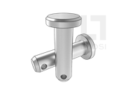 DIN 1444-1974 销轴(B型)