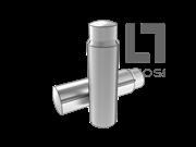 DIN 1470 带导杆及全长平行沟槽的槽销